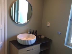 Total bathroom renovation
